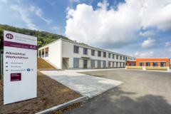 Bau der Diakonie Werkstätten (Außen)