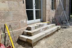 Pflasterung Treppe