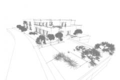 3D Planung gezeichnet